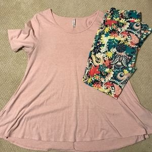 LLR Perfect Tee & Tall and Curvy Leggings